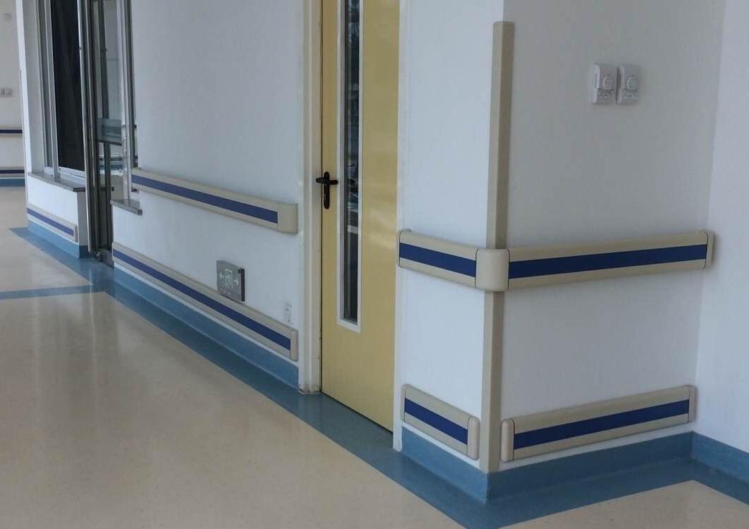 Hospital Anti bacterial Handrails factory