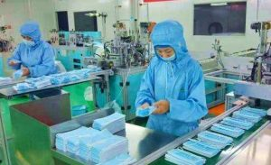 N95 surgical masks factory